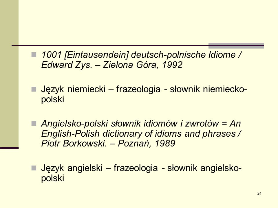1001 [Eintausendein] deutsch-polnische Idiome / Edward Zys